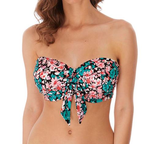 Freya Water Meadow AS6931 Underwired Padded Bandeau Bikini Top Multi CS
