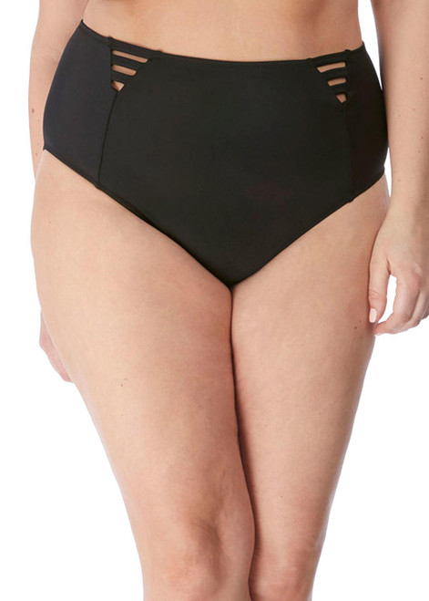 Elomi Magnetic ES7195 High Leg Bikini Brief Black BLK CS