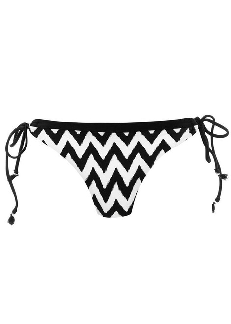 BLK Freya Deco Swim AS3805 Tie Side Bikini Brief Black S CS