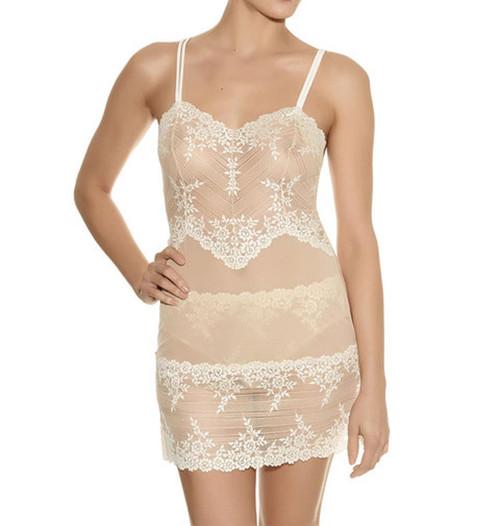Wacoal Embrace Lace WA814191 Chemise Naturally Nude/Ivory (271) CS