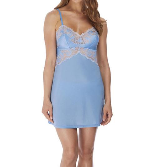 Wacoal Lace Affair WA812256 Chemise Cashmere Blue 461 CS