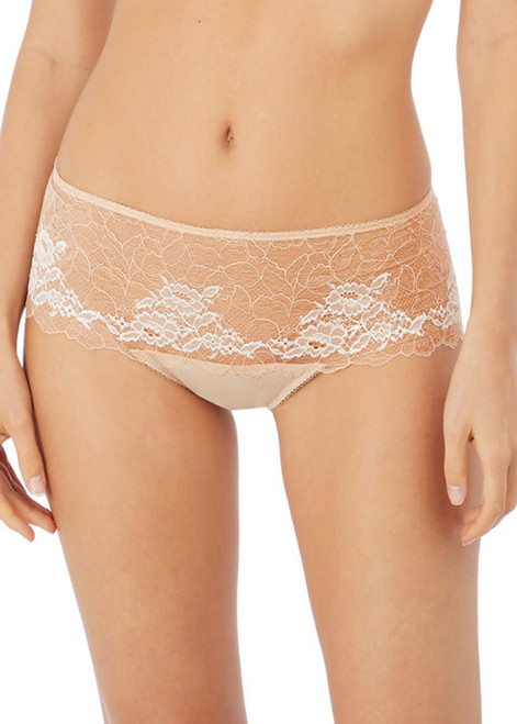 Wacoal Lace Perfection WE135006 Short Brief Cafe Creme CAC CS