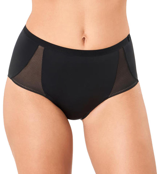 Sloggi S Symmetry High Waist Panty Brief Black 0004 CS