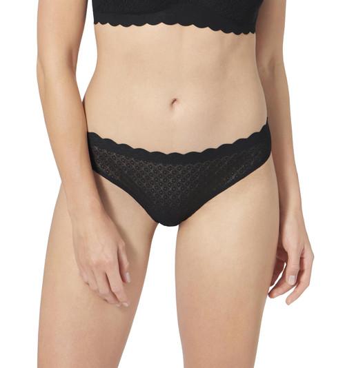 Sloggi Zero Feel Lace Brazil Panty Brief Black (0004) CS