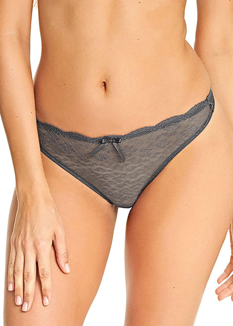 Freya Fancies AA1008 Thong Brief Graphite GRE CS