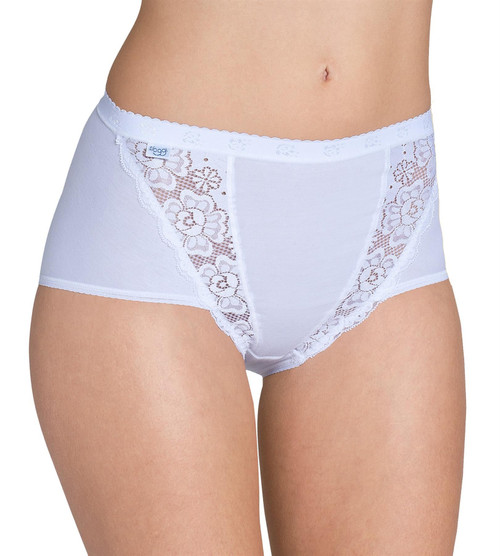 Sloggi Chic Maxi Brief Single Pack White (0003) CS