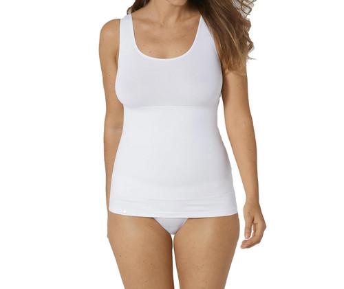 Triumph Trendy Sensation Shirt 02 Shapewear Vest Top White 0003 CS