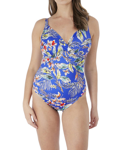 Fantasie Burano FS7028 W Underwired Plunge Swimsuit Pacific PAC CS