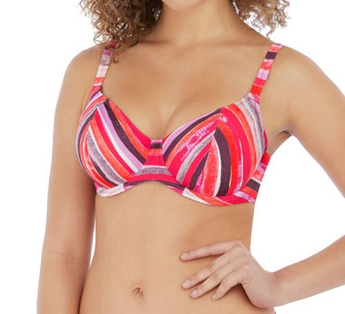 Freya Bali Bay AS6780 W Underwired Plunge Bikini Top Summer Multi CS