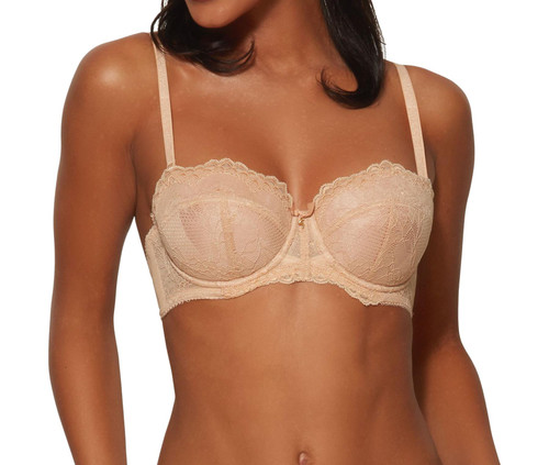 Gossard Superboost Lace 7707 Underwired Multiway A-D Cup Bra Nude CS