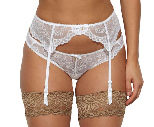 Gossard Superboost Lace 7712 Suspender White (WHT) CS
