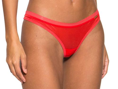 Gossard Glossies 6276 Thong Brief Chilli Red (CHI) CS