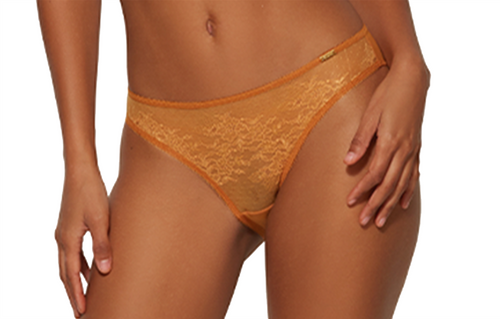Gossard Glossies Lace 13003 Classic Brief Spiced Honey (SPH) CS