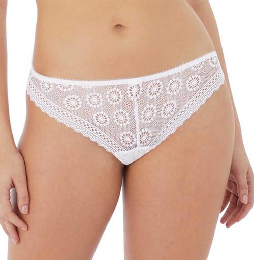 Freya Love Note AA5217 Brazilian Brief White WHE CS