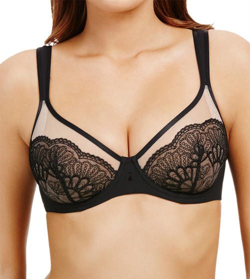 Berlei Beauty Style B5081 Underwired Plunge Bra Black (BLK) CS