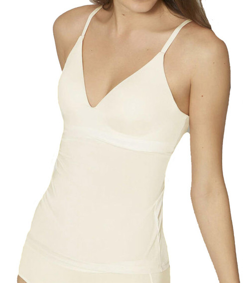 Sloggi Wow Comfort 2.0 Bra Shirt Shaping Vest Top Ecru White 1595 CS