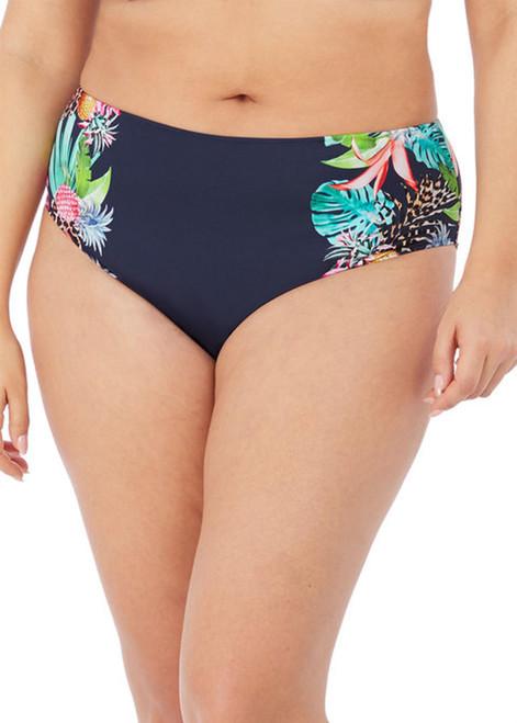 Elomi Pina Colada ES7264 Classic Full Bikini Brief Midnight CS