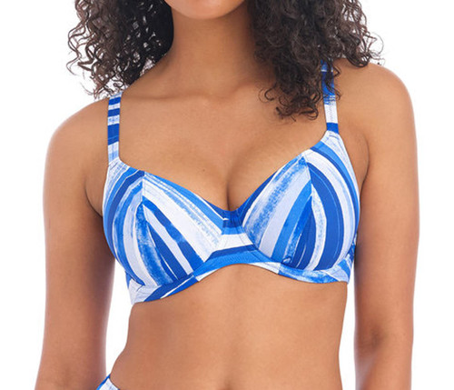 Freya Bali Bay AS6780 W Underwired Lined Plunge Bikini Top Biosphere CS