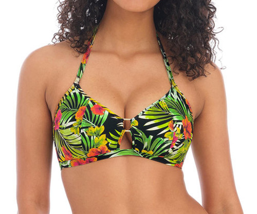 Freya Maui Daze AS201311 Non-Wired Padded Triangle Bikini Top Multi CS