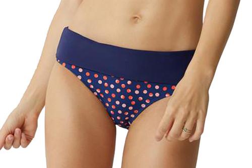 Bestform 03406 Tamarindo Convertible Fold Bikini Bottom Navy (9B2) CS