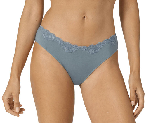 Triumph Touch Of Modal Tai Low Rise Smooth Comfort Brief Faded Denim (4049) CS