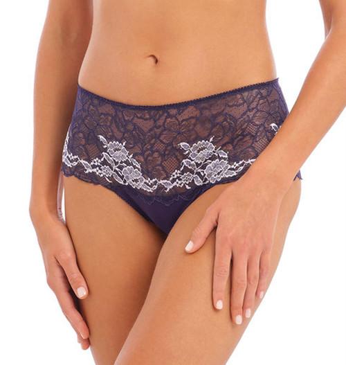 Wacoal Lace Perfection WE135006 Short Brief Evening Blue EVE CS