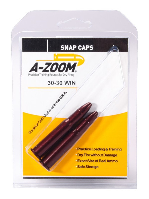 A-ZOOM SNAP CAPS 2 PACK  | .30-30 WIN