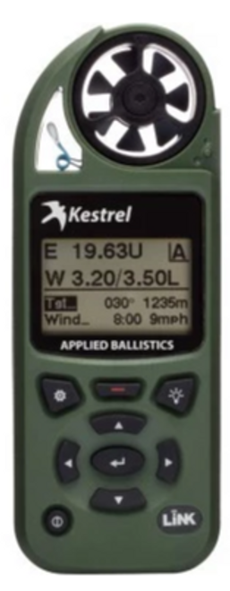 Kestrel 5700 Elite Weather Meter with Applied Ballistics with LiNK BLK