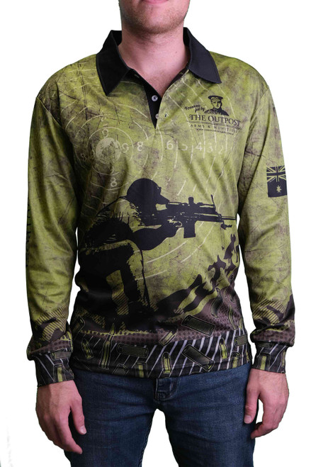 OUTPOST LIGHTWEIGHT SHOOTING SHIRT | OLIVE