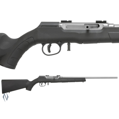 SAVAGE A22R .22LR FSS STAINLESS SYNTHETIC