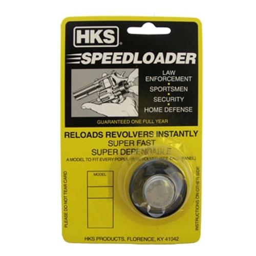 HKS 587-A 38/357 REVOLVER SPEEDLOADER 7 SHOT