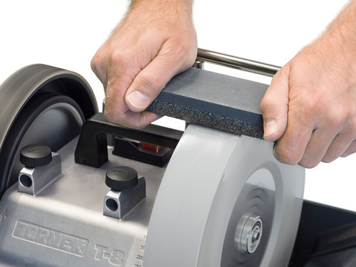 TORMEK Stone Grader – For grading the SuperGrind stone to finer grit. Also for renewing a glazed stone.