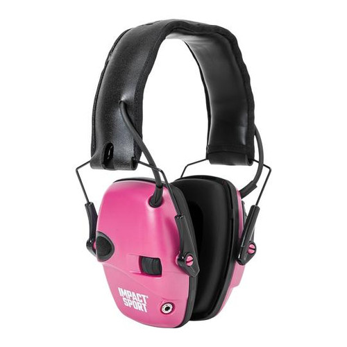 HOWARD LEIGHT IMPACT SPORT   PINK