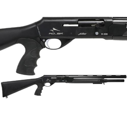 ADLER B220 PISTOL GRIP STRAIGHT PULL SHOTGUN | 12G