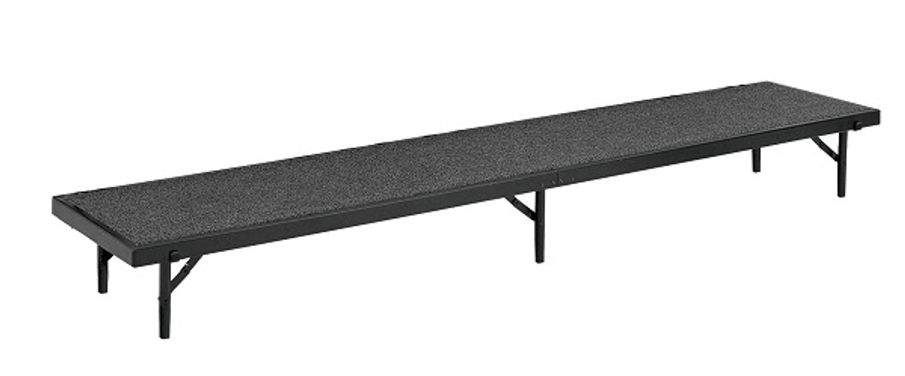 National Public Seating Rt16c Tapered Riser With Carpet L Affordable Risers National Public Seating Products