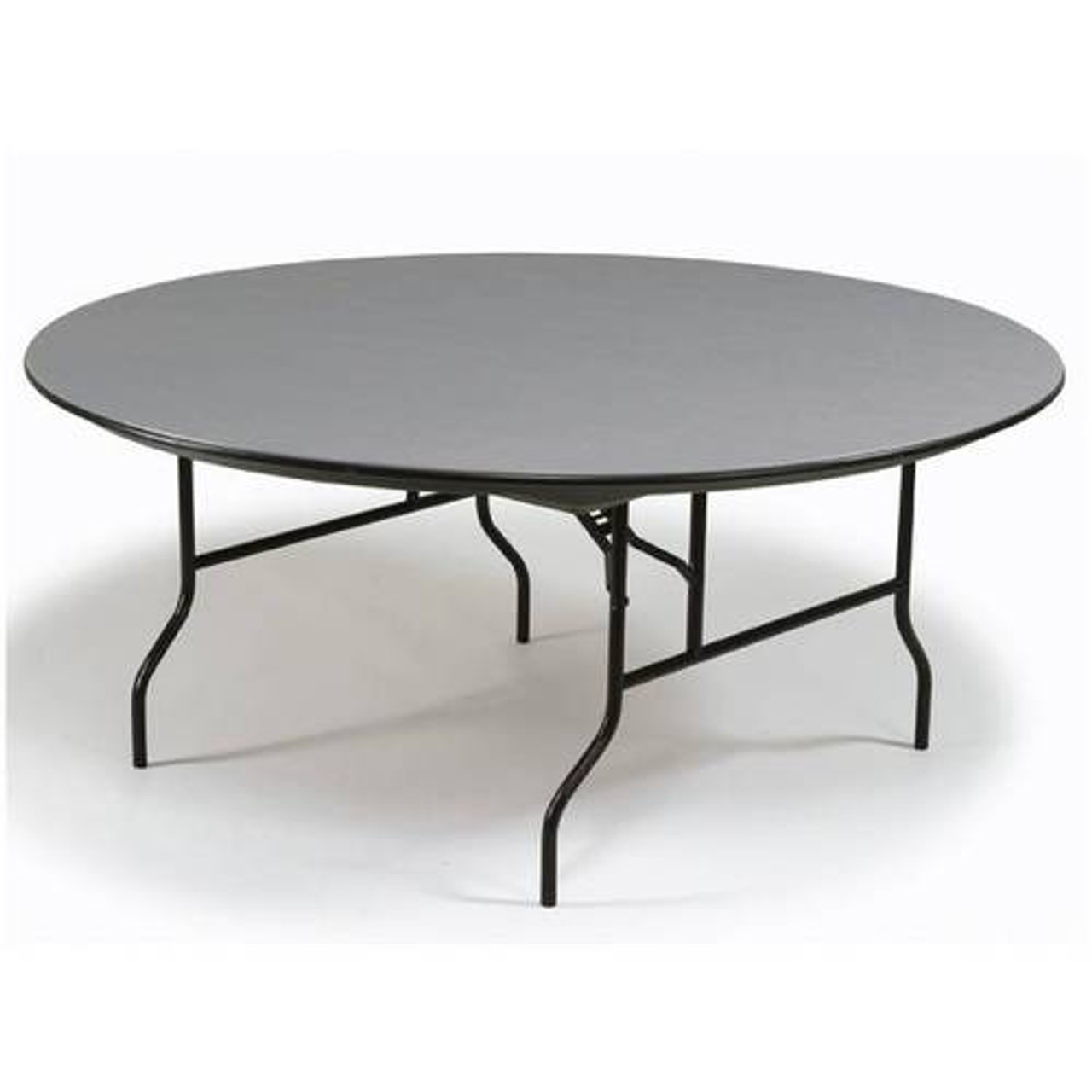 - Midwest R72NLW 72 Inch Round Hexalite Folding Table L Affordable