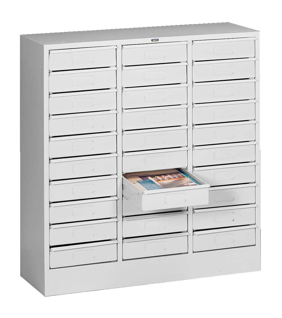Tennsco 36 Letter Size 36 Drawer Organizer 36x36.36x36