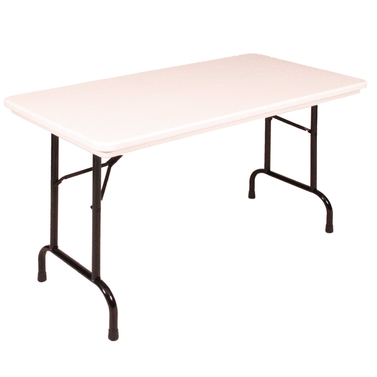30 X 60 Folding Table.Correll Ra3060 23 Heavy Duty Plastic Folding Table Gray Granite 30 W X 60 L Adjustable Height