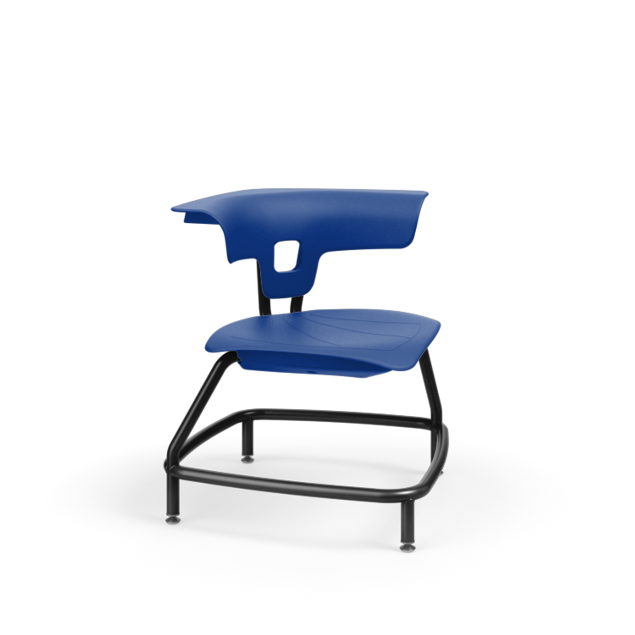 Terrific Ki Ruckus Rku100H15Nb Polypropylene Stack Chair With Glides 15 Inch Seat Height Bralicious Painted Fabric Chair Ideas Braliciousco