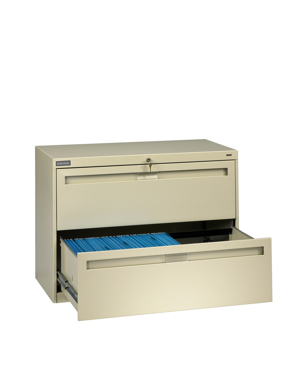 Tennsco Lpl3624l21 Retractable 2 Drawer Lateral File 36 X 18 X 28