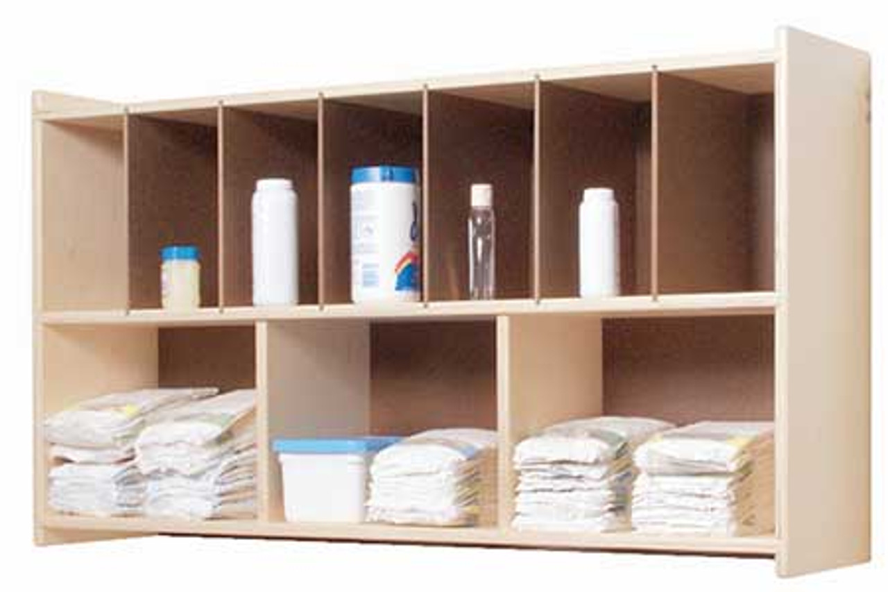 Ang1106 Diaper Wall Shelf L Affordable Storage Steffy Wood Products