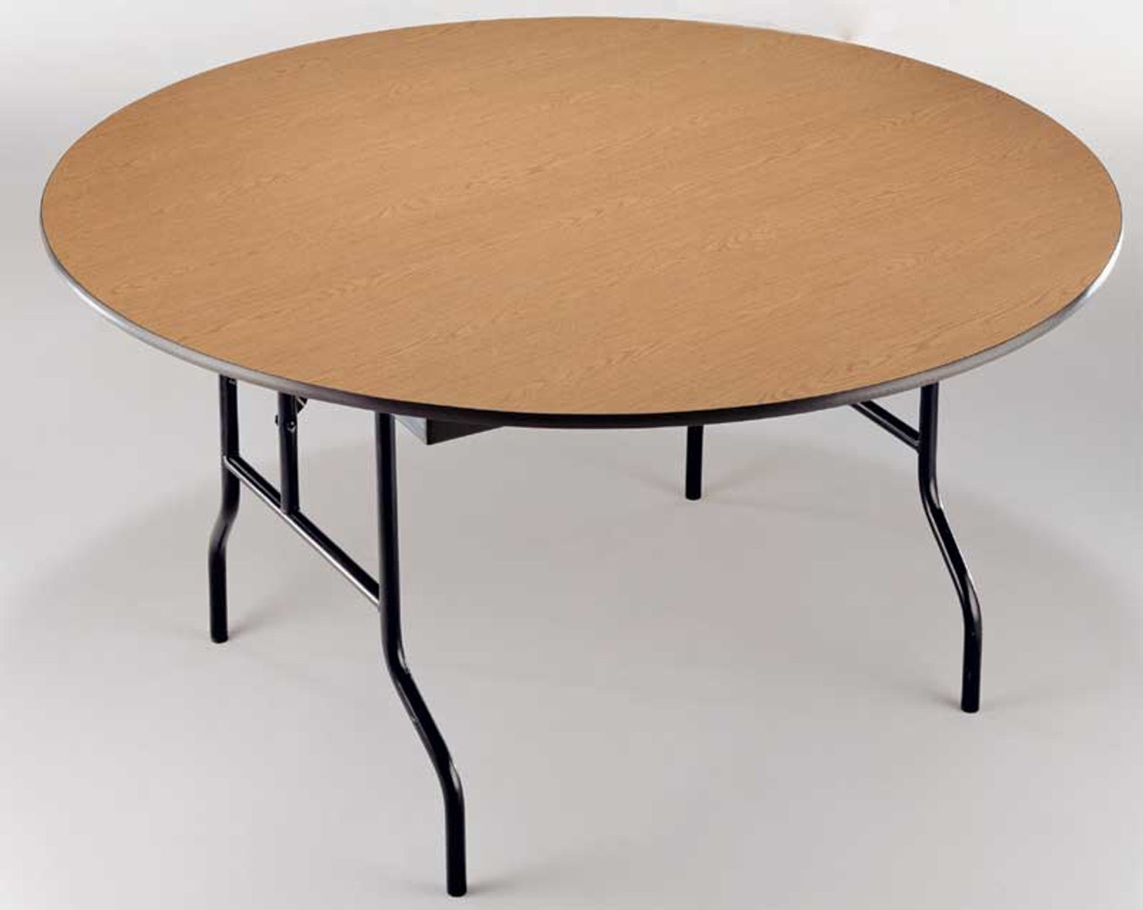Midwest R42EF Plywood Core 42 Inch Round Folding Table ...