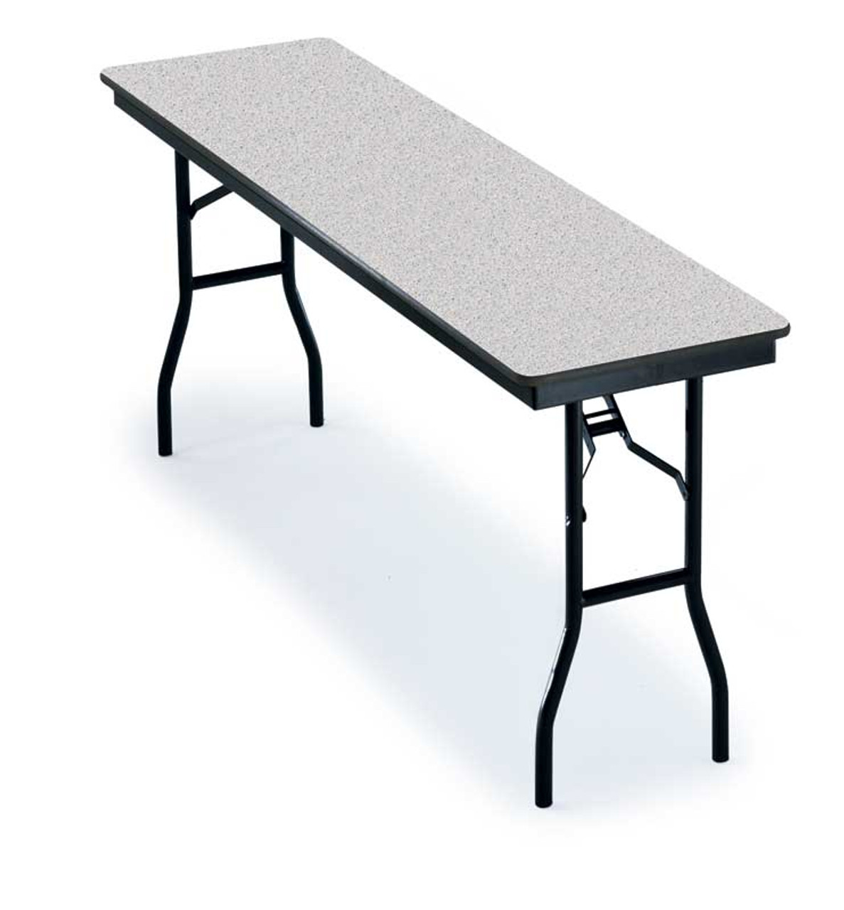 18 X 72 Folding Table.Midwest 618f Particleboard Core Seminar Folding Table 18 X 72