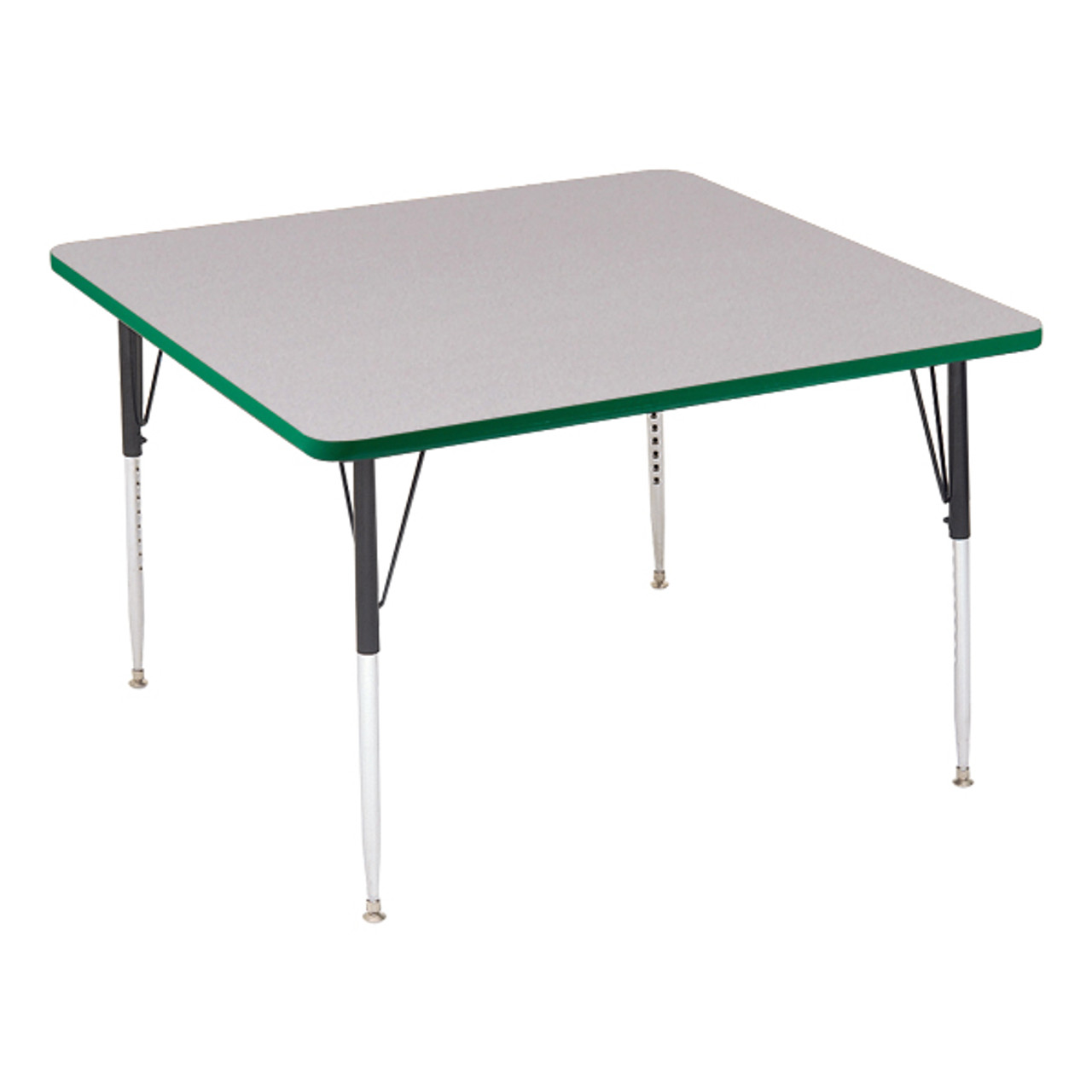 Superieur ... A4242 SQ High Pressure Square Shape Activity Table 42 Inch Diameter  Adjustable Height ...