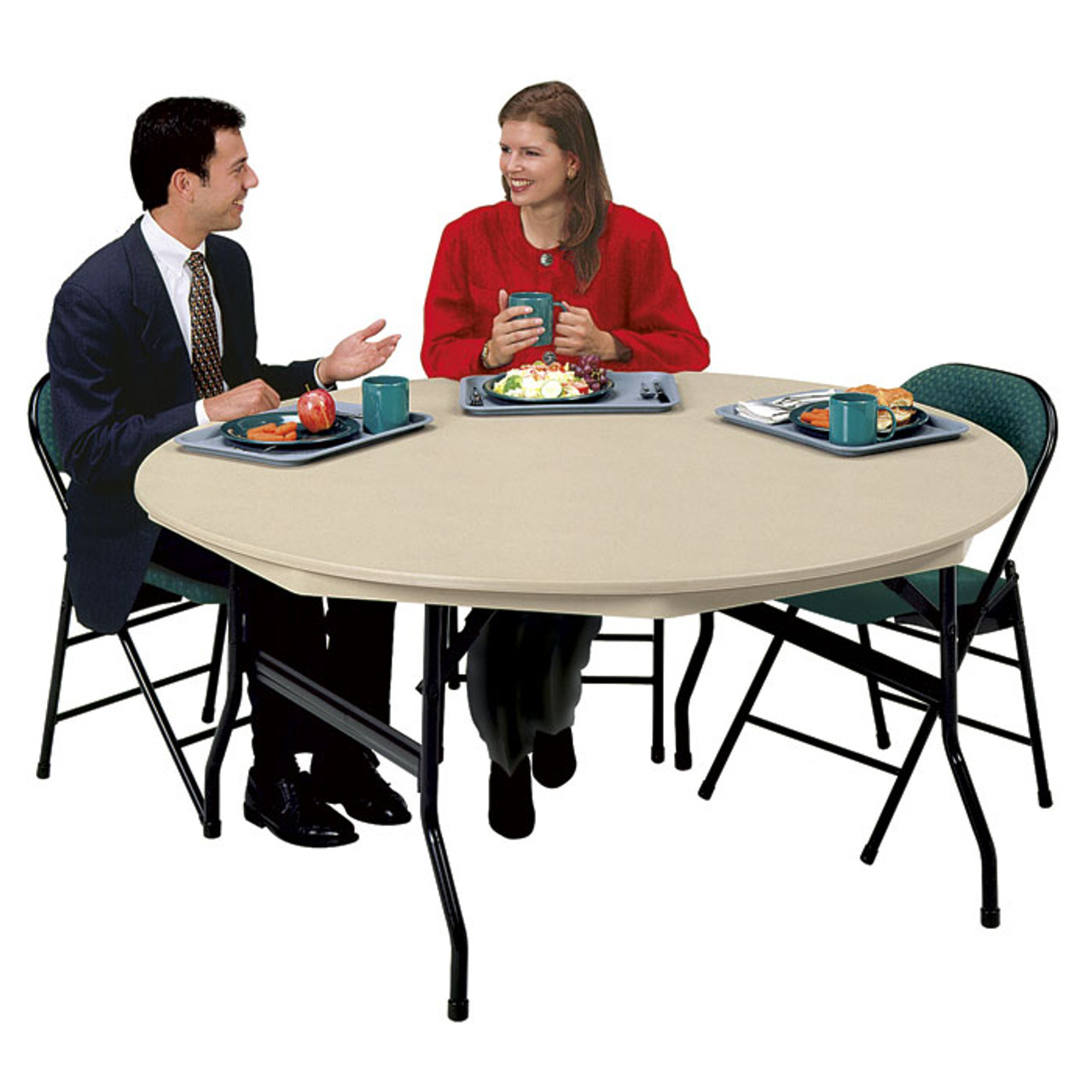 - DLR72 Lightweight Folding Table 72 Inch Round L Affordable Folding