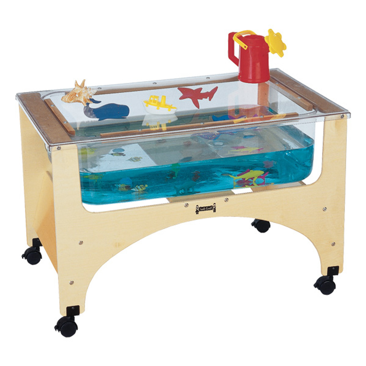 Jonti Craft 2872jc Birch See Thru Sensory Table 20 Inch Toddler Height