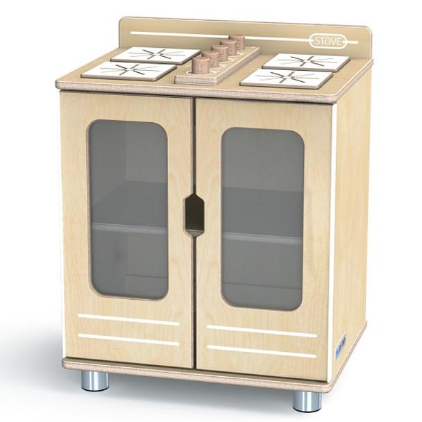 Jonti-Craft 1709JC TrueModern Play Kitchen Stove