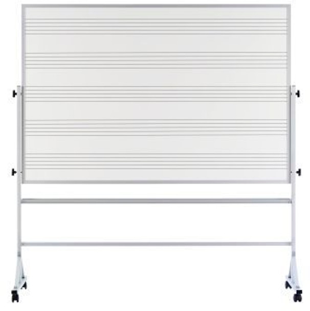 Marsh Industries RA-46C-MS2 Double Sided Music Staff Lines Markerboard