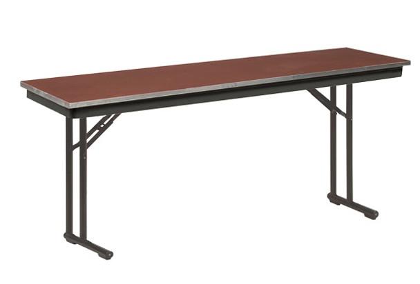 CP818E Plywood Core Comfort Leg Seminar Folding Table 18 x 96