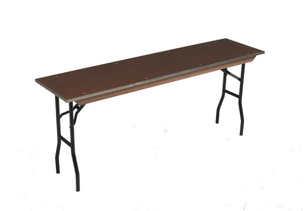 Midwest 824E Plywood Core 24 x 96 Rectangle Seminar Folding Table